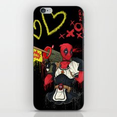 Dead Pool-chan iPhone & iPod Skin