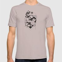 Goloseando Mens Fitted Tee Cinder SMALL