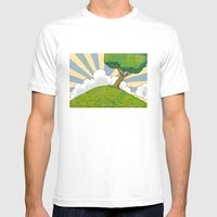 I want to be there Mens Fitted Tee White SMALL