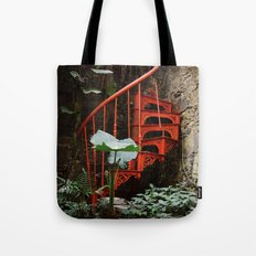 Up up and nowhere Tote Bag