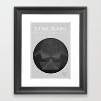 Star Wars V: The Empire Strikes Back Framed Art Print