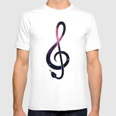 G Snake White Mens Fitted Tee SMALL
