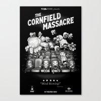 The Cornfield Massacre Canvas Print