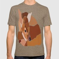 Little Bambi Mens Fitted Tee Tri-Coffee SMALL