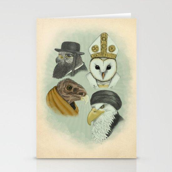 Birds of Pray Stationery Card