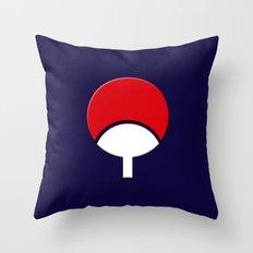 SASUKE UCHIHA CLAN LOGO/… Throw Pillow