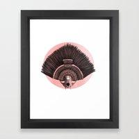 ::headdress:: Framed Art Print
