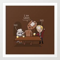 Who Am I? Art Print
