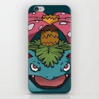 Dark Venusaur Pokemon Po… iPhone & iPod Skin