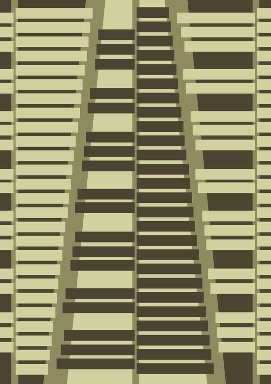 Instrumental series I - xylophone - ANALOG zine Canvas Print