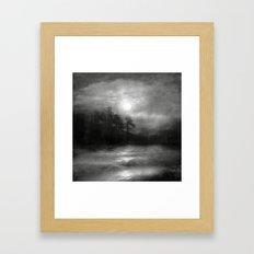 Black And White - Hope, … Framed Art Print