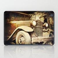 Vintage metal iPad Case