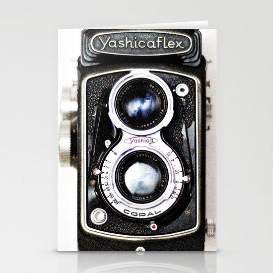 Yashica Retro Vintage Camera Stationery Card