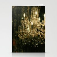 New Orleans Chandelier Stationery Cards