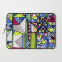 Neon Textures Laptop Sleeve