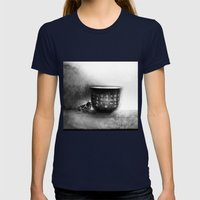 Limbo Womens Fitted Tee Navy SMALL