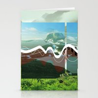 another abstract dream Stationery Cards