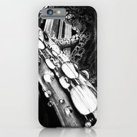 iPhone & iPod Case featuring The Lizard by MARIA BOZINA - PRINT