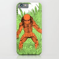 iPhone & iPod Case featuring The Hunter by Jack Teagle