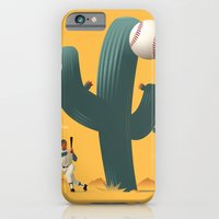 iPhone & iPod Case featuring Cactus League by John W. Tomac