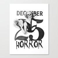 25 Dezember Canvas Print
