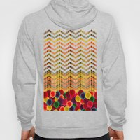 Chevron And Dots Hoody