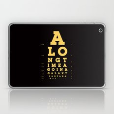 Jed Eye Chart Laptop & iPad Skin