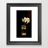 Still Life In Sepia Framed Art Print