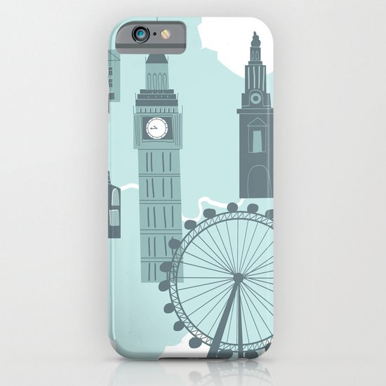 London Map iPhone & iPod Case