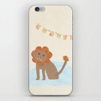 Lion Collage iPhone & iPod Skin