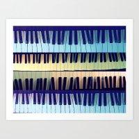 piano1 Art Print