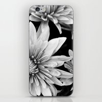 Black And White Flowers,… iPhone & iPod Skin