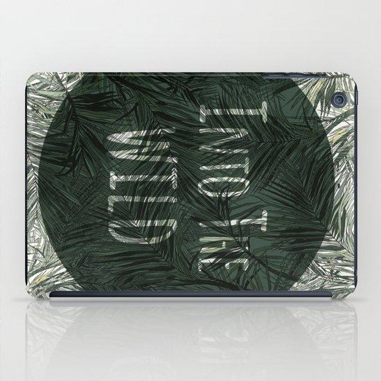 into the wild *palms iPad Case