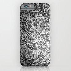 Silver Vivid  iPhone 6 Slim Case