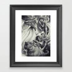 Another Castle :: Duoton… Framed Art Print
