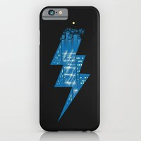 iPhone & iPod Case featuring Thunder City by carbine