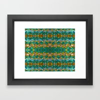Molten Gold With Impurit… Framed Art Print