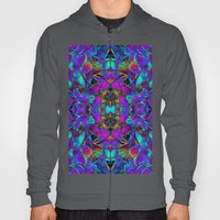 Fractal Floral Abstract G293 Hoody