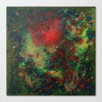 Biomorphic Pool 1 Canvas Print