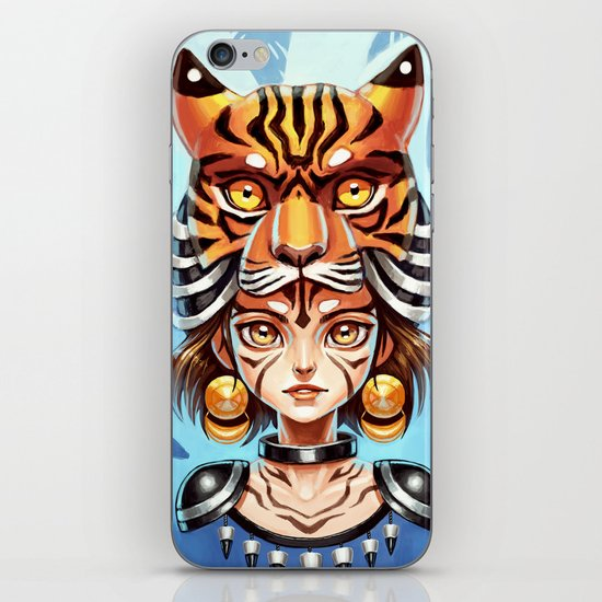 Tiger Tribe iPhone & iPod Skin