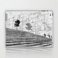 Fingerprint - Stairway Laptop & iPad Skin