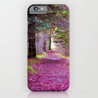 iPhone & iPod Case featuring Into the Woods by Ruben Toxværd