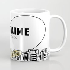 Je T'aime New York Mug