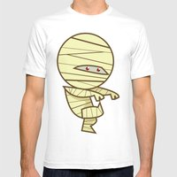 Have You Seen My Mummy? Mens Fitted Tee White SMALL