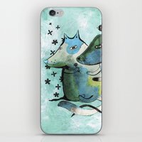 Bartukas Friend iPhone & iPod Skin