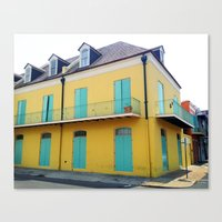 New Orleans Quarter Canvas Print