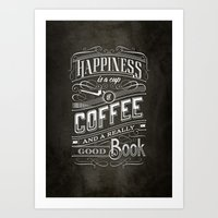 Coffee - Typography Art Print