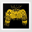 out-of-controller Art Print
