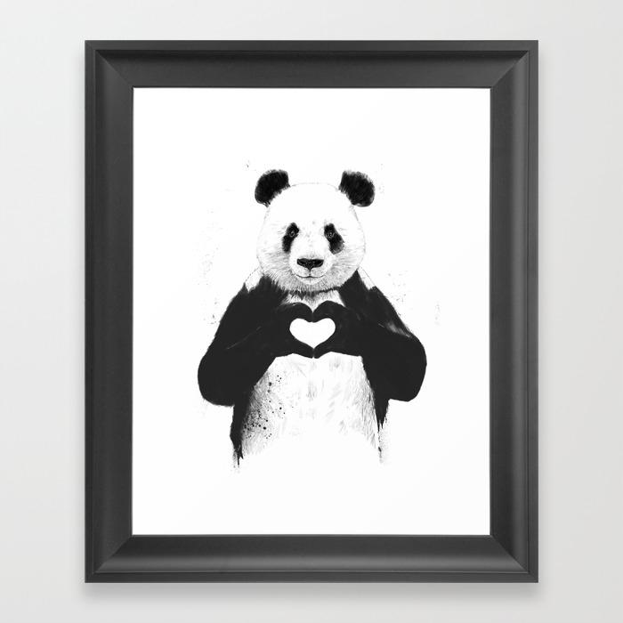 Popular Framed Art Prints in black-white | Society6