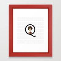 Quartermaster Bear Framed Art Print
